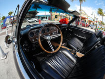 Pontiac interna GTO, spiaggia Florida del Fort Myers Fotografia Stock