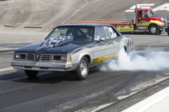 Pontiac lemans in action Royalty Free Stock Photo
