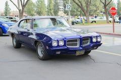 Pontiac LeMans  classic car on display Stock Images