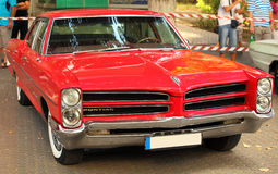 Pontiac old model Stock Photo