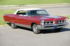 Pontiac Parisienne. Picture of the 1965 Pontiac Parisienne Custom Sport Convertible royalty free stock image