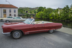 1966 pontiac parisienne custom sport convertible Royalty Free Stock Photography