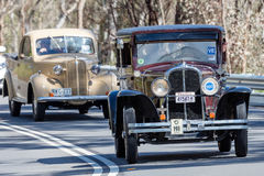 Pontiac 1929 Sedan 1929 Arkivbild
