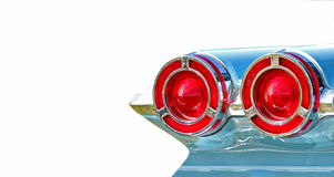 Pontiac-staartlichten Stock Afbeelding