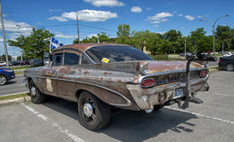 1959 pontiac strato chief side view Royalty Free Stock Images