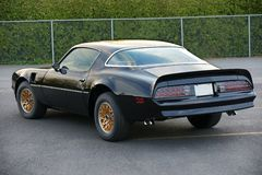 Pontiac trans am Royalty Free Stock Photos