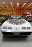 Pontiac trans. f.m. som visas på den 3rd upplagan av MOTO-SHOWEN i Krakow poland Royaltyfria Bilder