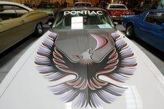 Pontiac trans. f.m. som visas på den 3rd upplagan av MOTO-SHOWEN i Krakow poland Royaltyfri Fotografi