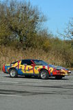 Pontiac Trans Am With Graffiti Royalty Free Stock Photos