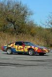 Pontiac trans Am met Graffiti Royalty-vrije Stock Foto's