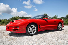 2002 Pontiac Trans Am Royalty Free Stock Images