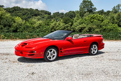 2002 Pontiac Trans Am Stock Photos
