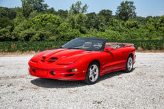 2002 Pontiac Trans Am Royalty Free Stock Photos