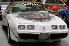 Pontiac-Transport morgens angezeigt an der 3. Ausgabe von MOTO-ZEIGUNG in Krakau polen Lizenzfreies Stockfoto