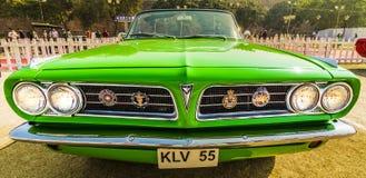 Pontiac-two-door convertibele uitstekende auto van Stormle mans 1963 Stock Foto's