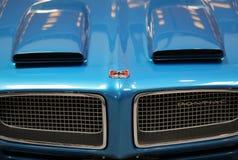 Pontiac wystawiał przy 3rd wydaniem MOTO przedstawienie w Krakow Polska zdjęcie stock