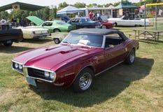 1968 Pontiac 400 Zijaanzicht Stock Afbeelding