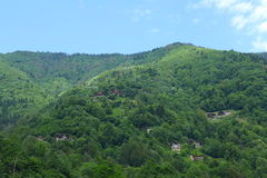 Pontic Green Mountains Stock Image