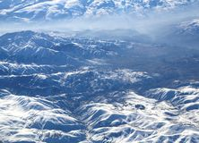 Pontic Mountains in winter Royalty Free Stock Image