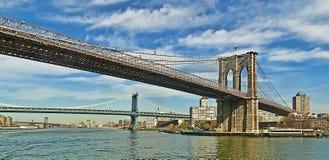 Ponticelli del East River Fotografia Stock Libera da Diritti