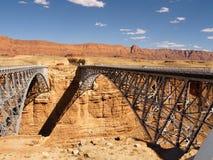 Ponticelli di marmo del canyon fotografia stock libera da diritti