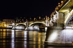 Ponticello a Budapest Fotografie Stock Libere da Diritti