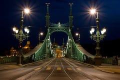 Ponticello Budapest di libertà immagini stock libere da diritti