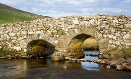 Ponticello calmo dell'uomo, Irlanda Fotografia Stock