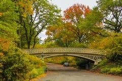 Ponticello in Central Park Fotografie Stock