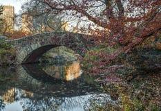 Ponticello Central Park, New York City di Gapstow Fotografie Stock Libere da Diritti
