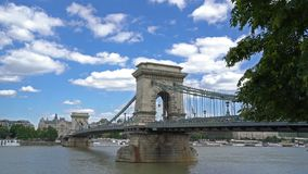 Ponticello Chain a Budapest stock footage