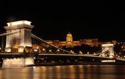 Ponticello Chain Budapest Fotografie Stock