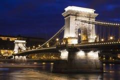 Ponticello Chain a Budapest fotografia stock