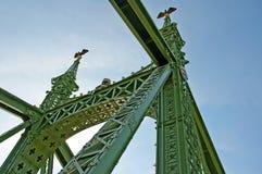 Ponticello Chain a Budapest Fotografie Stock Libere da Diritti