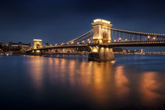 Ponticello Chain, Budapest Fotografie Stock