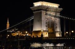 Ponticello Chain a Budapest, Ungheria Fotografia Stock