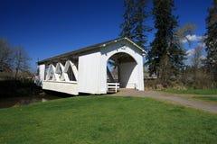 Ponticello coperto dell'Oregon Fotografia Stock Libera da Diritti