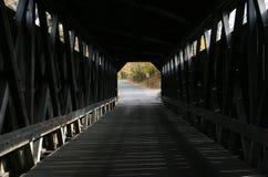Ponticello coperto interno di Fallasburg Fotografia Stock
