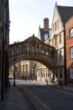 Ponticello dei sospiri, Oxford Fotografia Stock Libera da Diritti