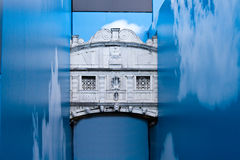 Ponticello dei sospiri a Venezia Fotografia Stock Libera da Diritti