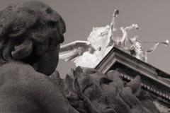 Ponticello del Alexander III fotografia stock libera da diritti