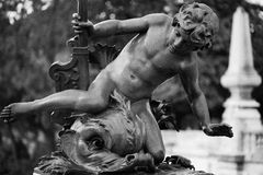 Ponticello del Alexander III fotografie stock