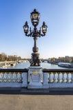 Ponticello del Alexander III Immagine Stock Libera da Diritti