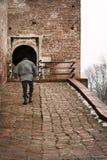 Ponticello del castello Fotografia Stock