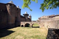 Ponticello del castello Immagini Stock