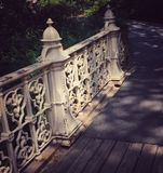 Ponticello del Central Park Fotografie Stock