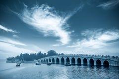 Ponticello del foro di Pechino diciassette fotografia stock libera da diritti