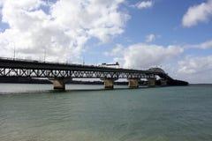 Ponticello del porto di Auckland Fotografie Stock