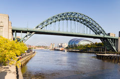 Ponticello del Tyne immagine stock