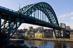 Ponticello del Tyne e di Newcastle Fotografia Stock